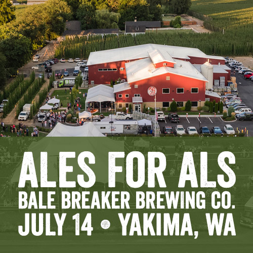 Ales for ALS at Bale Breaker Brewing Co.