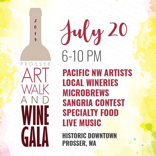 Prosser Art Walk & Wine Gala