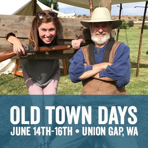 Old Town Days - Civil War Reenactment, Union Gap, WA