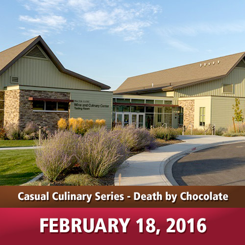 Casual Culinary Series - Death by Chocolate