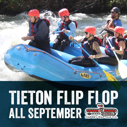 Tieton Flip Flop - Yakima Valley White Water Rafting