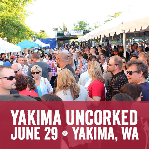 Yakima Uncorked Wine, Brews and Food Festival