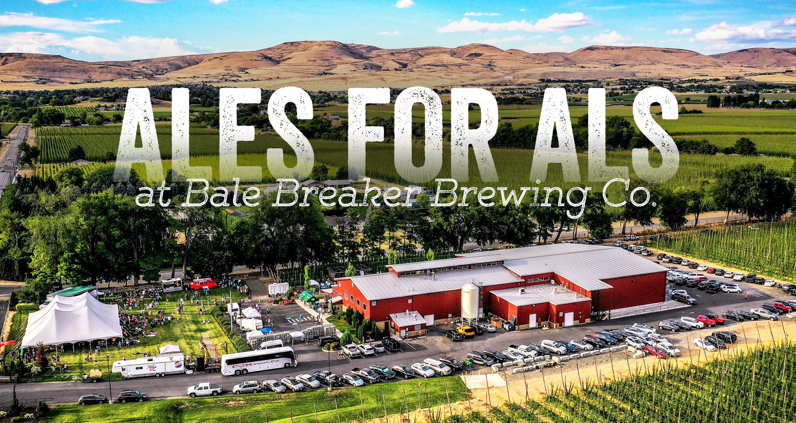 Ales for ALS at Bale Breaker Brewing Company