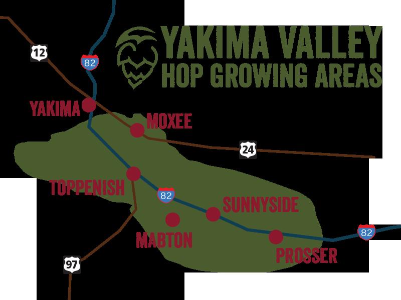 Plantio Lúpulo Yakima Valley