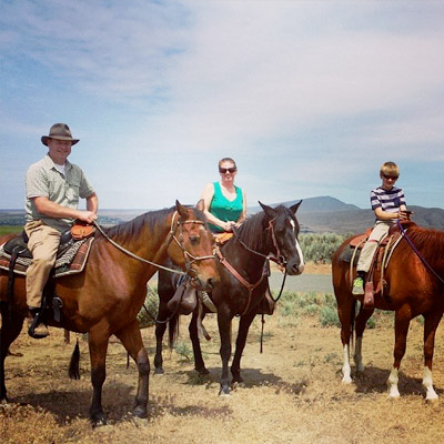 Yakima Valley Wine Tasting by Horseback