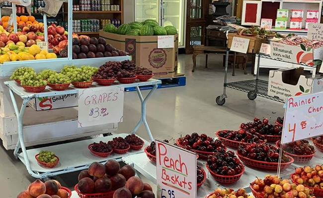 Precision Fruit & Antiques  - Yakima Valley Farm Stand