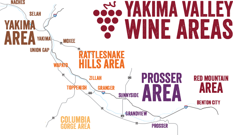 Yakima Valley Wine Country - Wineries, Wine Maps, Wine Tasting, Wine on atlas peak wineries map, mclaren vale wineries map, st. louis area wineries map, california wineries map, washington wineries map, yountville wineries map, lodi wineries map, monterey wineries map, tri-cities wineries map, diamond mountain wineries map, yakima county hydrology map, tuscany wineries map,